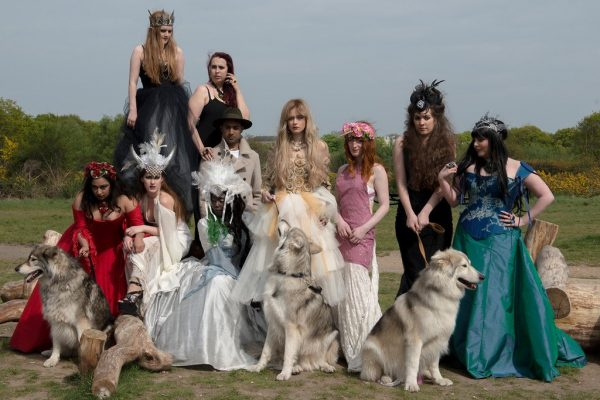 Eclectic wedding part with Wedding Wolves